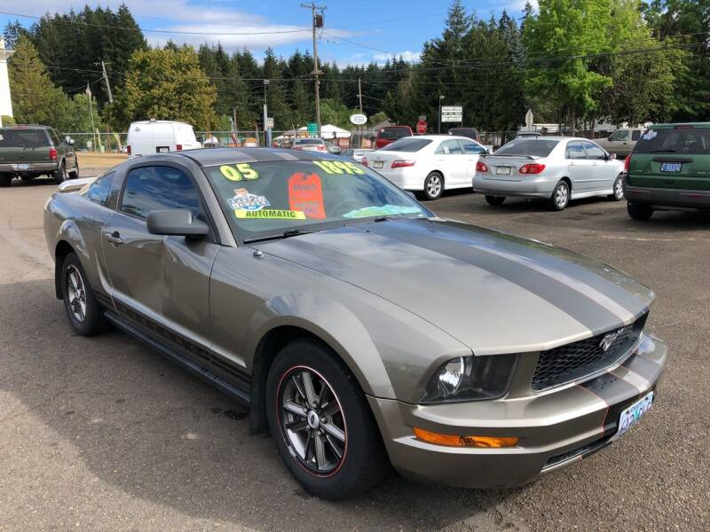 2005 Ford Mustang for sale at Freeborn Motors in Lafayette, OR
