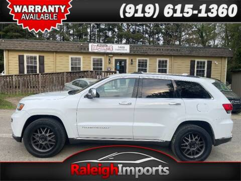 2014 Jeep Grand Cherokee for sale at Raleigh Imports in Raleigh NC