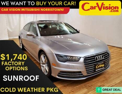 2017 Audi A7 for sale at Car Vision Mitsubishi Norristown in Trooper PA