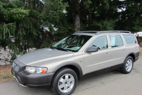 2002 Volvo XC for sale at B & C Northwest Auto Sales in Olympia WA
