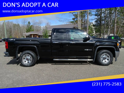 2014 GMC Sierra 1500 for sale at DON'S ADOPT A CAR in Cadillac MI
