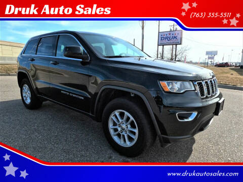 2018 Jeep Grand Cherokee for sale at Druk Auto Sales in Ramsey MN