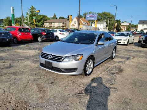 2012 Volkswagen Passat for sale at MOE MOTORS LLC in South Milwaukee WI