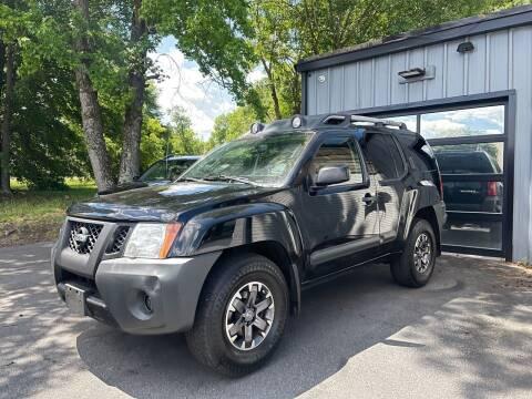 2014 Nissan Xterra for sale at Luxury Auto Company in Cornelius NC
