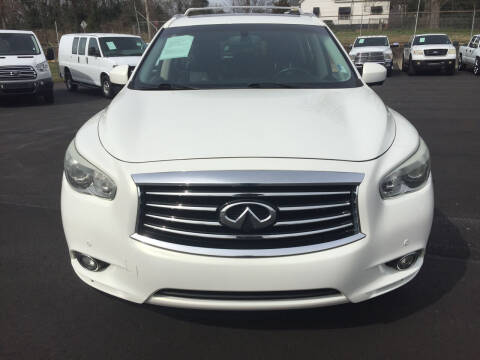 2013 Infiniti JX35 for sale at Beckham's Used Cars in Milledgeville GA
