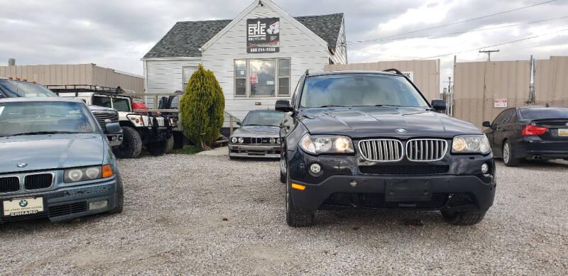 2008 BMW X3 for sale at EHE Auto Sales in Marine City MI