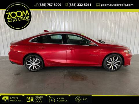 2016 Chevrolet Malibu for sale at ZoomAutoCredit.com in Elba NY