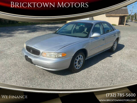 2005 Buick Century for sale at Bricktown Motors in Brick NJ