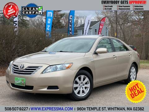 2009 Toyota Camry Hybrid for sale at Auto Sales Express in Whitman MA