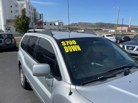 2004 Mitsubishi Endeavor for sale at Creekside Auto Sales in Pocatello ID