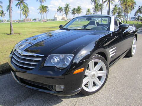 2007 Chrysler Crossfire for sale at FLORIDACARSTOGO in West Palm Beach FL
