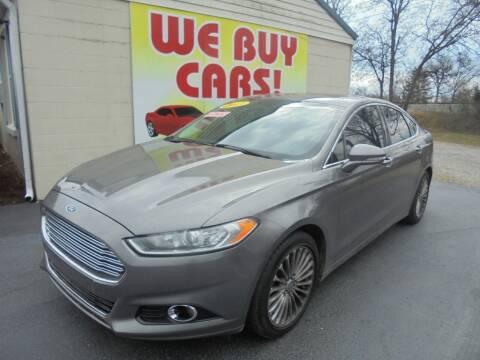 2013 Ford Fusion for sale at Right Price Auto Sales in Murfreesboro TN