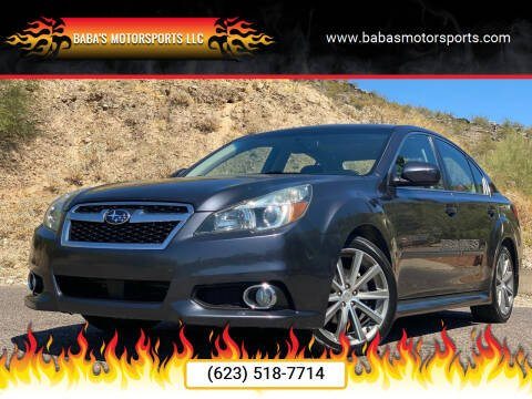 2013 Subaru Legacy for sale at Baba's Motorsports, LLC in Phoenix AZ
