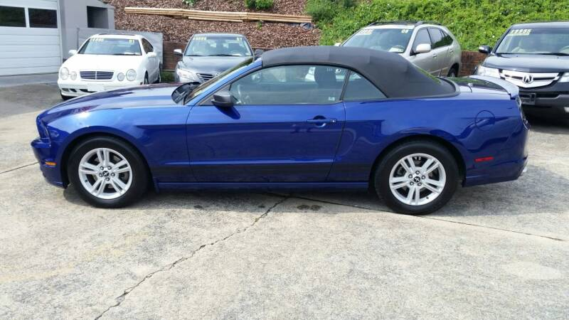 2013 Ford Mustang for sale at State Line Motors in Bristol VA