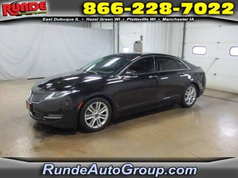 2016 Lincoln MKZ for sale at Runde PreDriven in Hazel Green WI