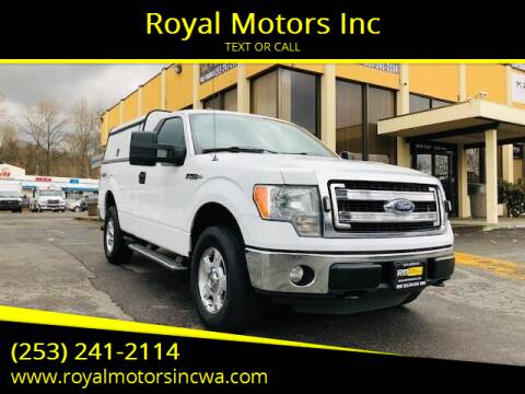 2014 Ford F-150 for sale at Royal Motors Inc in Kent WA