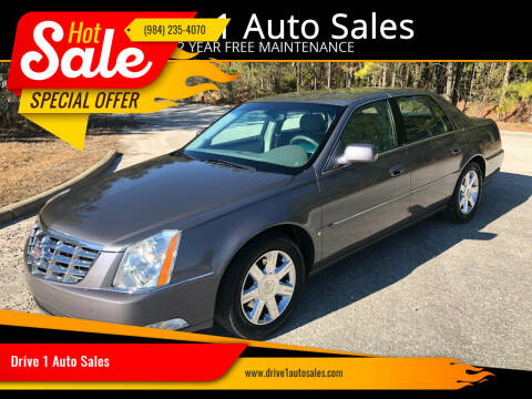 2007 Cadillac DTS for sale at Drive 1 Auto Sales in Wake Forest NC