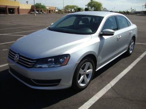2013 Volkswagen Passat for sale at FREDRIK'S AUTO in Mesa AZ