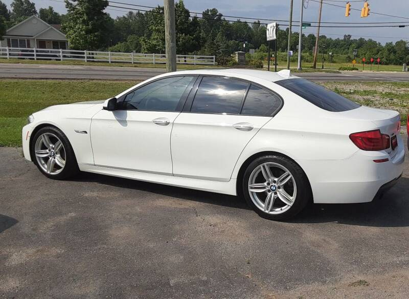 2013 BMW 5 Series for sale at Cars East in Columbus OH