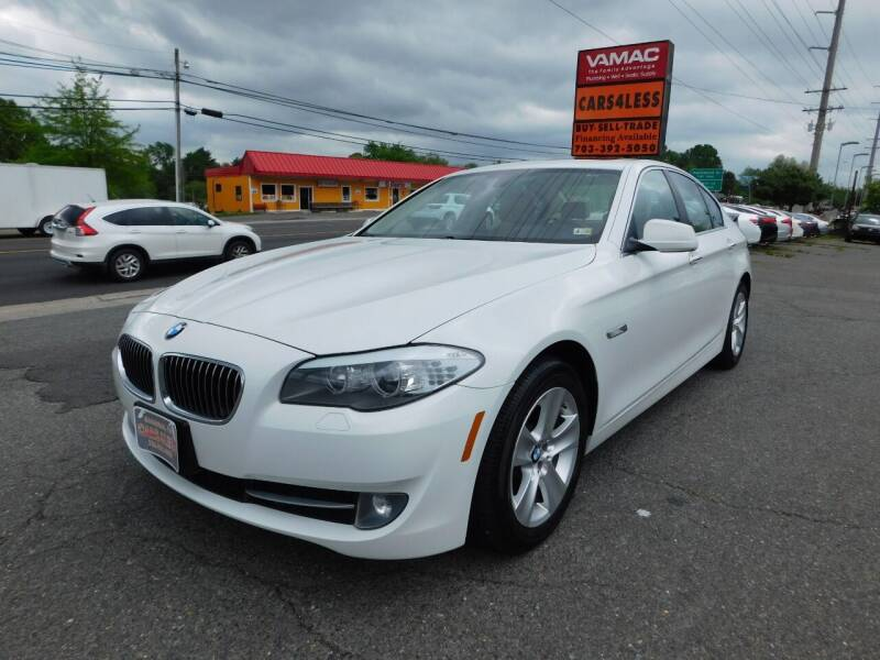 2013 BMW 5 Series for sale at Cars 4 Less in Manassas VA