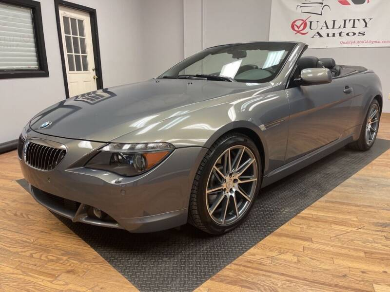 2005 BMW 6 Series for sale at Quality Autos in Marietta GA