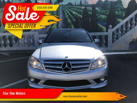 2010 Mercedes-Benz C-Class for sale at Star One Motors in Hayward CA