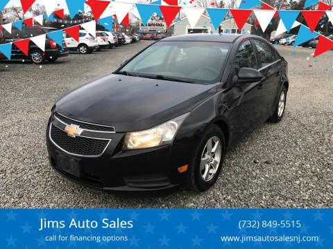 2011 Chevrolet Cruze for sale at Jims Auto Sales in Lakehurst NJ