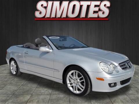 2009 Mercedes-Benz CLK for sale at SIMOTES MOTORS in Minooka IL