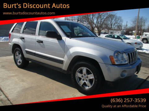 2005 Jeep Grand Cherokee for sale at Burt's Discount Autos in Pacific MO