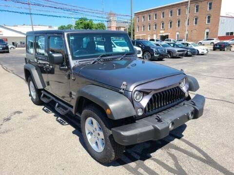 2017 Jeep Wrangler Unlimited for sale at LeMond's Chevrolet Chrysler in Fairfield IL