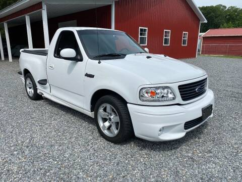 2001 Ford F-150 SVT Lightning for sale at F & A Corvette in Colonial Beach VA