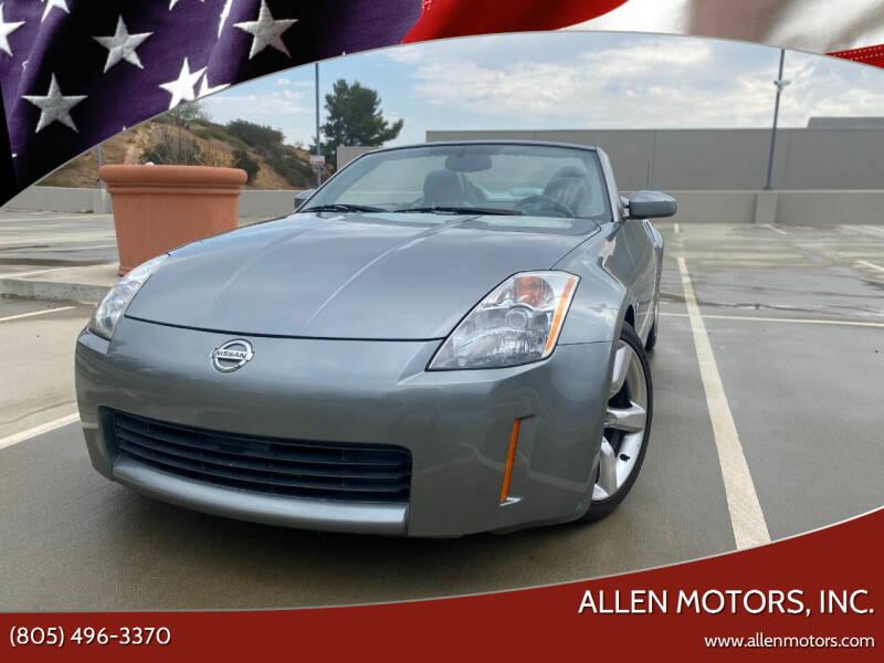 2004 Nissan 350Z for sale at Allen Motors, Inc. in Thousand Oaks CA
