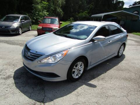 2014 Hyundai Sonata for sale at S & T Motors in Hernando FL