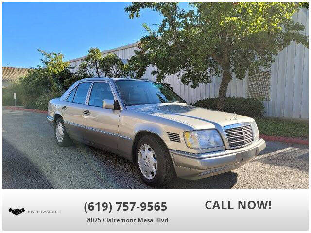 1995 Mercedes-Benz E-Class for sale at INVESTAMOBILE in San Diego CA
