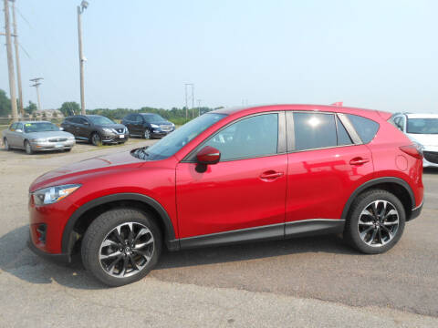 2016 Mazda CX-5 for sale at Salmon Automotive Inc. in Tracy MN