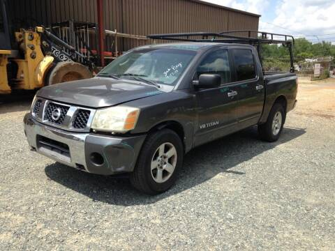 2007 Nissan Titan for sale at ASAP Car Parts in Charlotte NC
