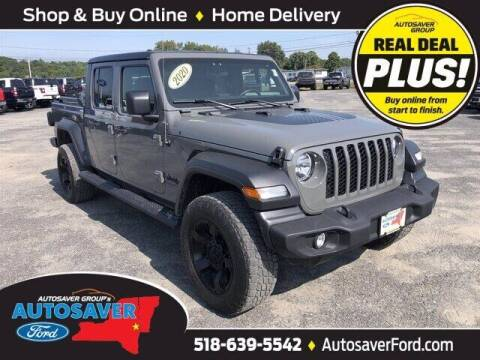 2020 Jeep Gladiator for sale at Autosaver Ford in Comstock NY