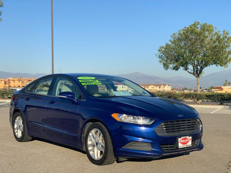 2016 Ford Fusion for sale at Esquivel Auto Depot in Rialto CA