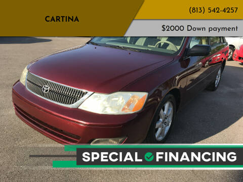 2002 Toyota Avalon for sale at Cartina in Tampa FL