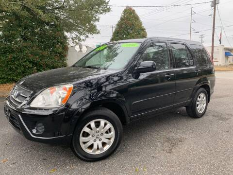 2006 Honda CR-V for sale at Seaport Auto Sales in Wilmington NC