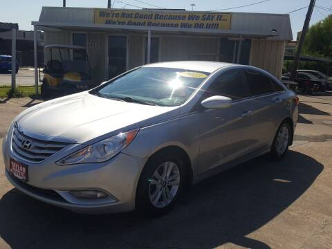2013 Hyundai Sonata for sale at Taylor Trading Co in Beaumont TX