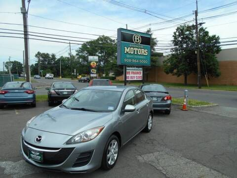 2010 Mazda MAZDA3 for sale at Brookside Motors in Union NJ