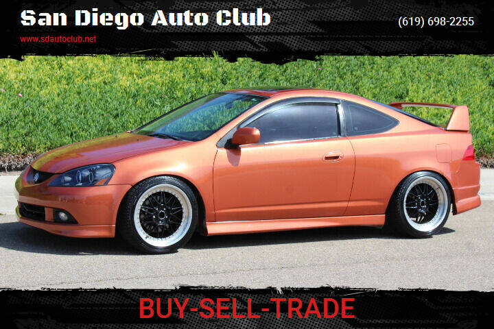 2006 Acura RSX for sale at San Diego Auto Club in Spring Valley CA