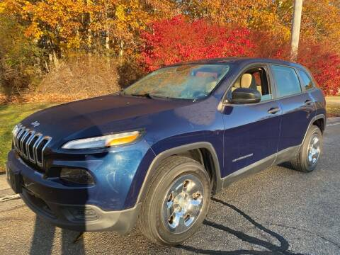 2016 Jeep Cherokee for sale at Padula Auto Sales in Braintree MA