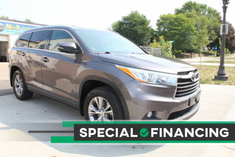2015 Toyota Highlander for sale at K & L Auto Sales in Saint Paul MN