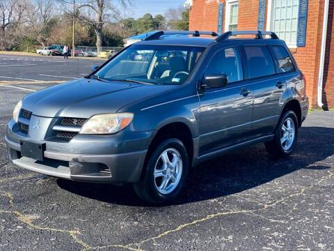 2004 Mitsubishi Outlander for sale at Carland Auto Sales INC. in Portsmouth VA