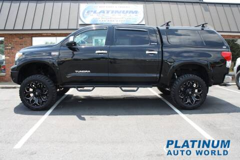 2010 Toyota Tundra for sale at Platinum Auto World in Fredericksburg VA