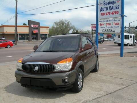 2002 Buick Rendezvous for sale at Springs Auto Sales in Colorado Springs CO