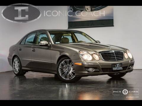 2008 Mercedes-Benz E-Class for sale at Iconic Coach in San Diego CA