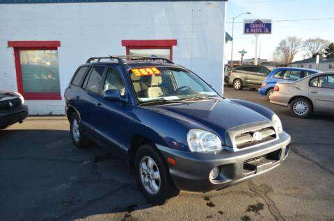 2006 Hyundai Santa Fe for sale at CARGILL U DRIVE USED CARS in Twin Falls ID